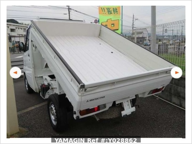 It is a picture of the white mitsubishi minicab truck dump in 2011,Sub Photo 19 Stock No.Y028862