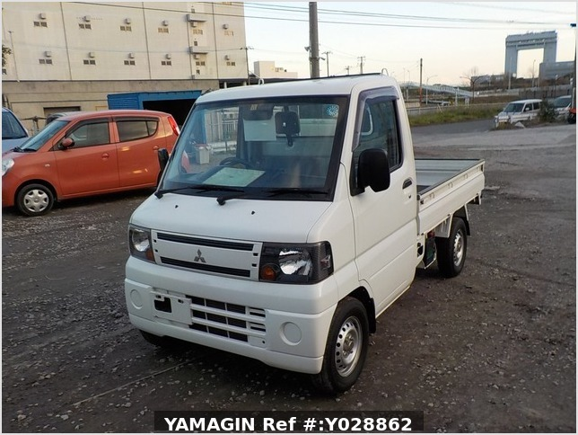 It is a picture of the white mitsubishi minicab truck dump in 2011,Sub Photo 2 Stock No.Y028862