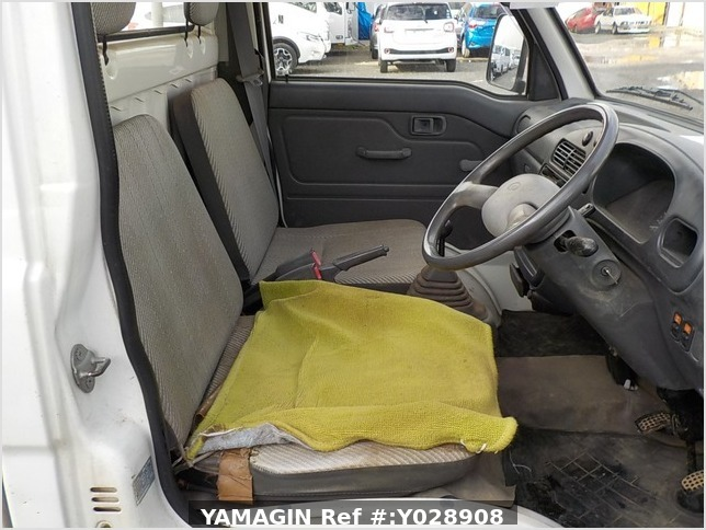 It is a picture of the white daihatsu hijet truck in 1995,Sub Photo 10 Stock No.Y028908
