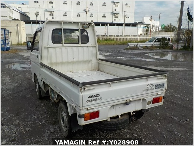 It is a picture of the white daihatsu hijet truck in 1995,Sub Photo 3 Stock No.Y028908