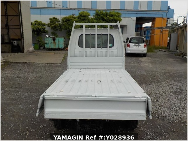 It is a picture of the white daihatsu hijet scissors dump in 1996,Sub Photo 10 Stock No.Y028936
