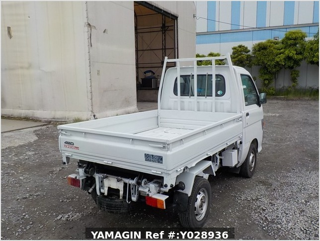 It is a picture of the white daihatsu hijet scissors dump in 1996,Sub Photo 3 Stock No.Y028936