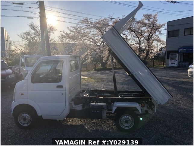 It is a picture of the white suzuki carry scissors dump in 2007,Sub Photo 8 Stock No.Y029139