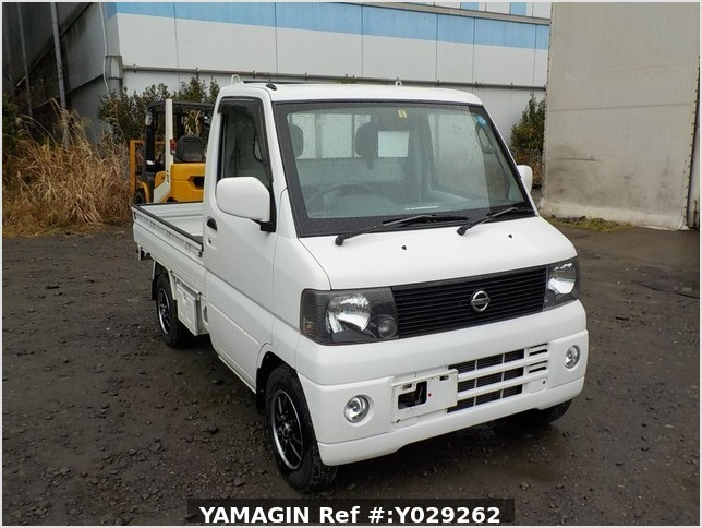 It is a picture of the white nissan clipper truck in 2004,Sub Photo 0 Stock No.Y029262