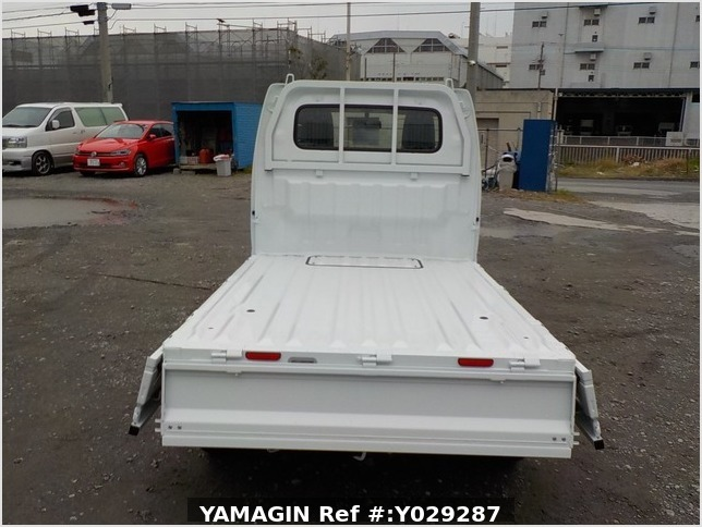 It is a picture of the white mitsubishi minicab truck in 2019,Sub Photo 4 Stock No.Y029287