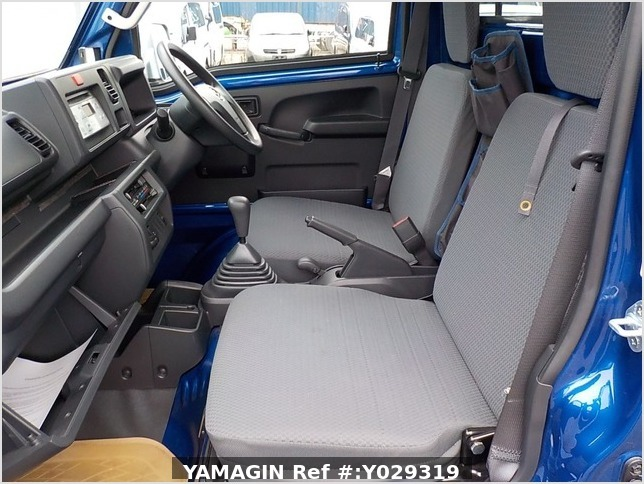 It is a picture of the blue daihatsu hijet truck in 2014,Sub Photo 12 Stock No.Y029319