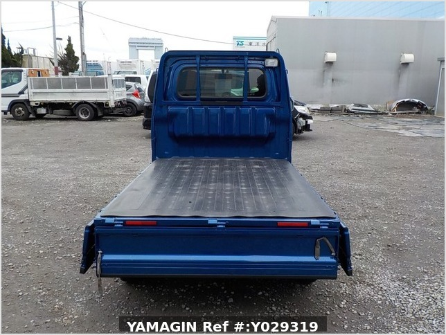 It is a picture of the blue daihatsu hijet truck in 2014,Sub Photo 4 Stock No.Y029319