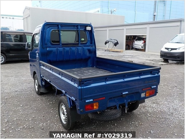 It is a picture of the blue daihatsu hijet truck in 2014,Sub Photo 2 Stock No.Y029319