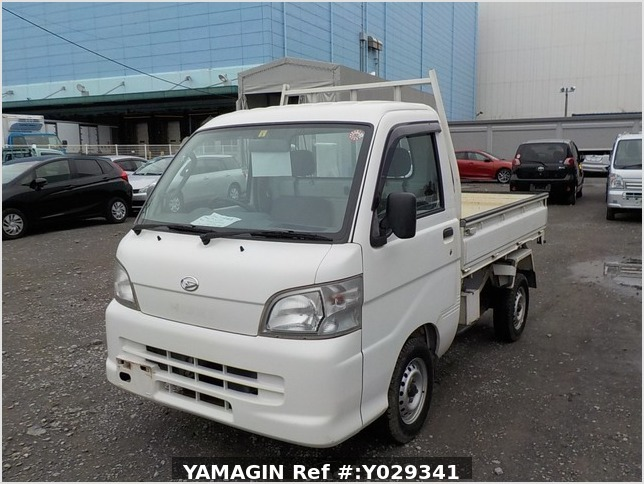It is a picture of the white daihatsu hijet scissors dump in 2007,Sub Photo 2 Stock No.Y029341