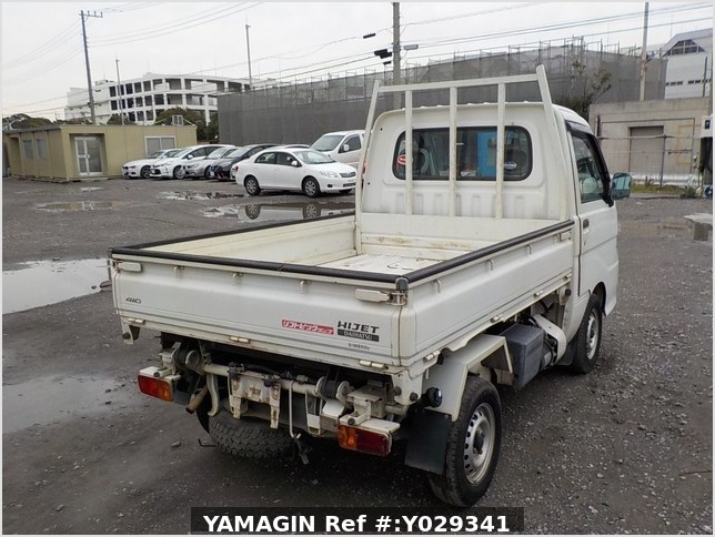 It is a picture of the white daihatsu hijet scissors dump in 2007,Sub Photo 4 Stock No.Y029341