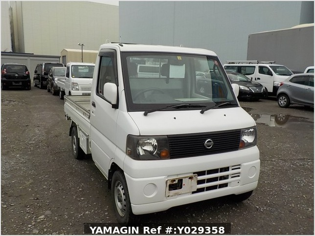 It is a picture of the white nissan clipper truck in 2004,Sub Photo 0 Stock No.Y029358