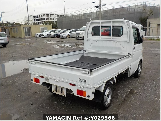 It is a picture of the white suzuki carry truck in 2012,Sub Photo 2 Stock No.Y029366