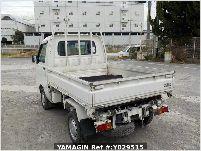 It is a picture of the white daihatsu hijet scissors dump in 2014,Sub Photo 4 Stock No.Y029515
