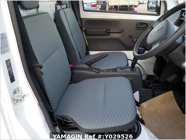 It is a picture of the white suzuki carry dump in 2020,Sub Photo 12 Stock No.Y029526