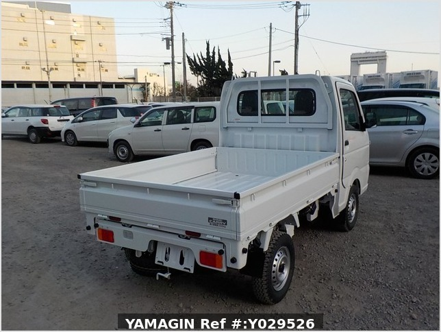 It is a picture of the white suzuki carry dump in 2020,Sub Photo 4 Stock No.Y029526