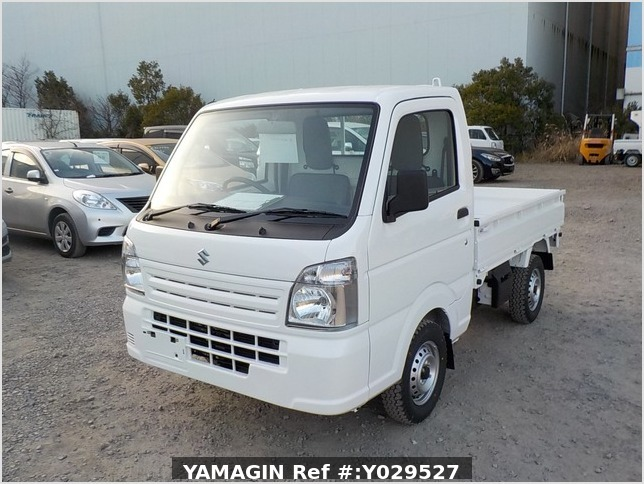 It is a picture of the white suzuki carry dump in 2020,Sub Photo 2 Stock No.Y029527