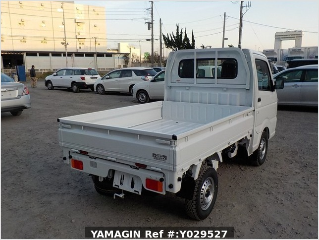 It is a picture of the white suzuki carry dump in 2020,Sub Photo 3 Stock No.Y029527