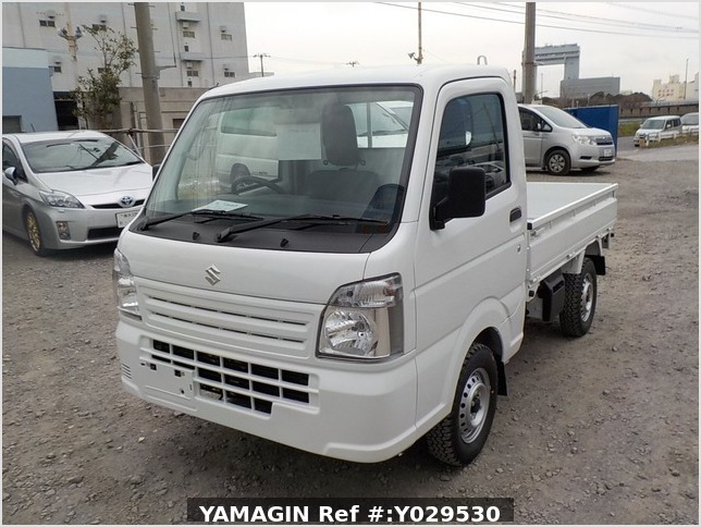 It is a picture of the white suzuki carry dump in 2020,Sub Photo 2 Stock No.Y029530