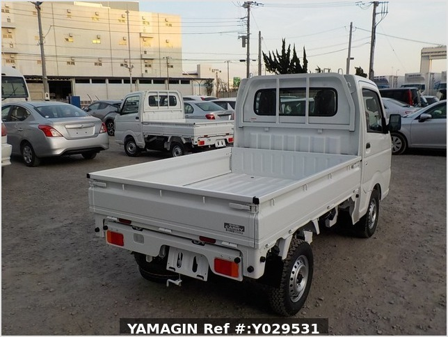 It is a picture of the white suzuki carry dump in 2020,Sub Photo 4 Stock No.Y029531
