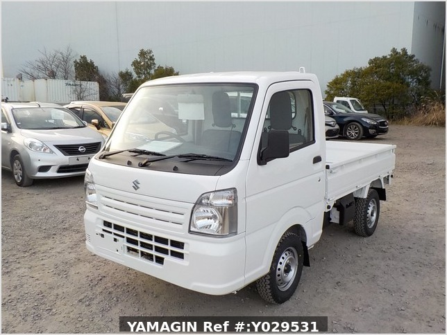 It is a picture of the white suzuki carry dump in 2020,Sub Photo 2 Stock No.Y029531