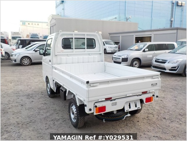 It is a picture of the white suzuki carry dump in 2020,Sub Photo 3 Stock No.Y029531
