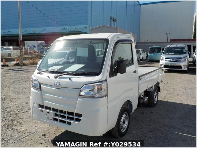 It is a picture of the white daihatsu hijet dump in 2020,Sub Photo 2 Stock No.Y029534