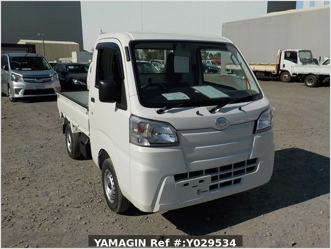 It is a picture of the white daihatsu hijet dump in 2020,Sub Photo 1 Stock No.Y029534