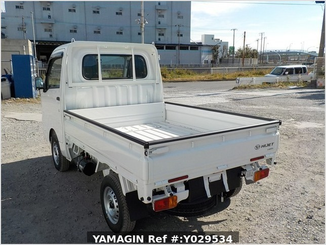 It is a picture of the white daihatsu hijet dump in 2020,Sub Photo 3 Stock No.Y029534