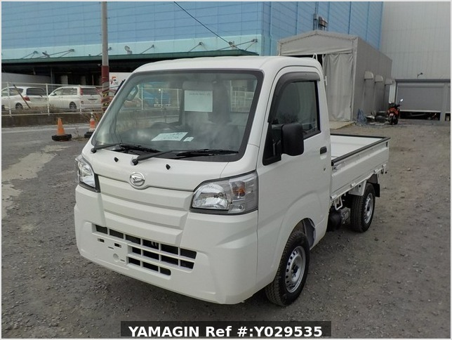 It is a picture of the white daihatsu hijet dump in 2020,Sub Photo 2 Stock No.Y029535
