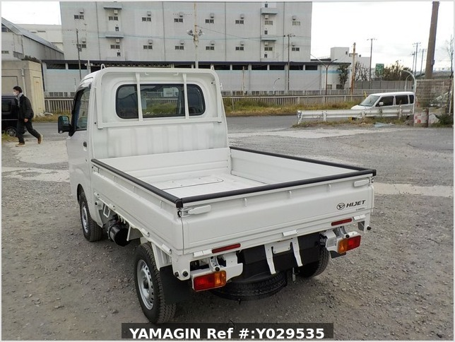 It is a picture of the white daihatsu hijet dump in 2020,Sub Photo 4 Stock No.Y029535