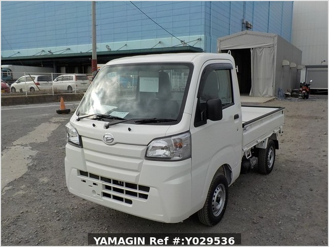 It is a picture of the white daihatsu hijet dump in 2020,Sub Photo 2 Stock No.Y029536