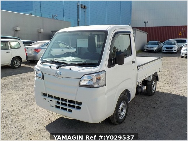 It is a picture of the white daihatsu hijet dump in 2020,Sub Photo 2 Stock No.Y029537