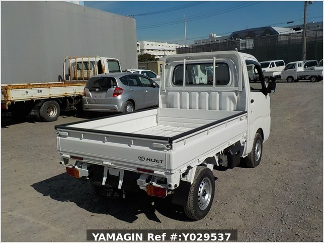 It is a picture of the white daihatsu hijet dump in 2020,Sub Photo 4 Stock No.Y029537