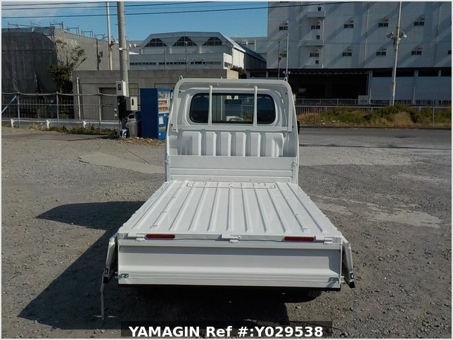 It is a picture of the white daihatsu hijet dump in 2020,Sub Photo 5 Stock No.Y029538