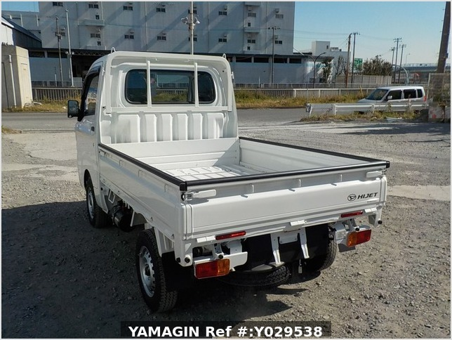 It is a picture of the white daihatsu hijet dump in 2020,Sub Photo 4 Stock No.Y029538