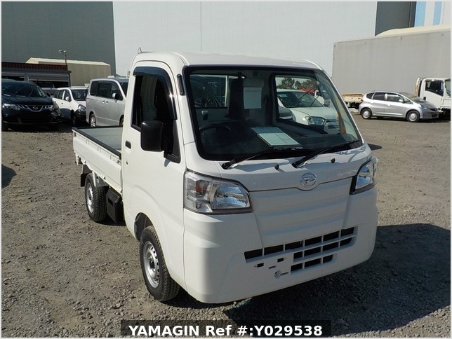 It is a picture of the white daihatsu hijet dump in 2020,Sub Photo 2 Stock No.Y029538