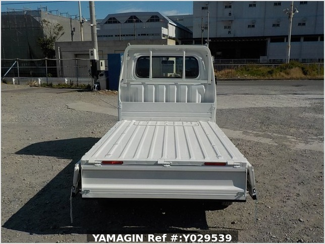 It is a picture of the white daihatsu hijet dump in 2020,Sub Photo 5 Stock No.Y029539