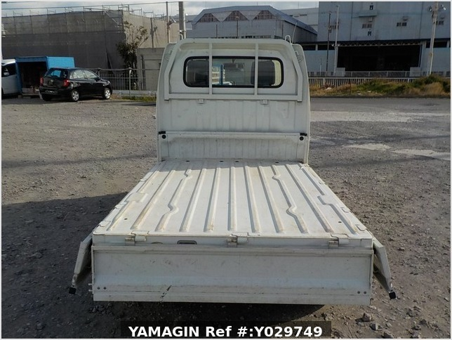 It is a picture of the white suzuki carry truck in 2008,Sub Photo 4 Stock No.Y029749