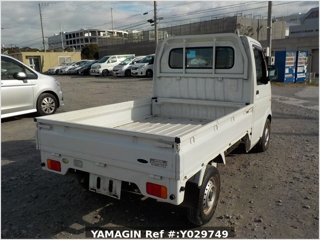 It is a picture of the white suzuki carry truck in 2008,Sub Photo 2 Stock No.Y029749