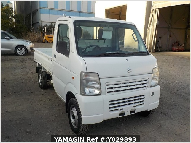 It is a picture of the white suzuki carry dump in 2011,Sub Photo 1 Stock No.Y029893