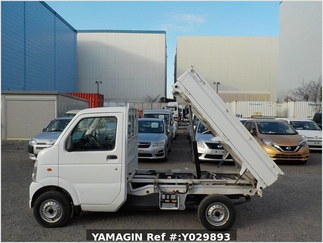 It is a picture of the white suzuki carry dump in 2011,Sub Photo 6 Stock No.Y029893