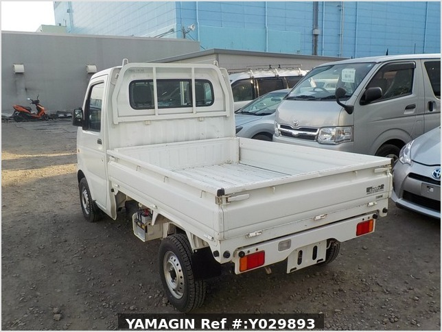 It is a picture of the white suzuki carry dump in 2011,Sub Photo 3 Stock No.Y029893