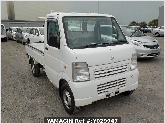 It is a picture of the white suzuki carry truck in 2011,Sub Photo 0 Stock No.Y029947