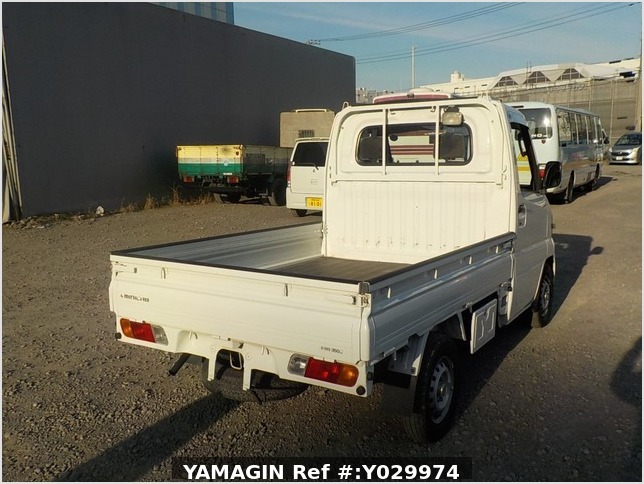 It is a picture of the white mitsubishi minicab truck in 2008,Sub Photo 2 Stock No.Y029974