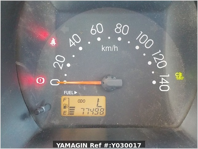 It is a picture of the blue daihatsu hijet deck van in 2007,Sub Photo 7 Stock No.Y030017