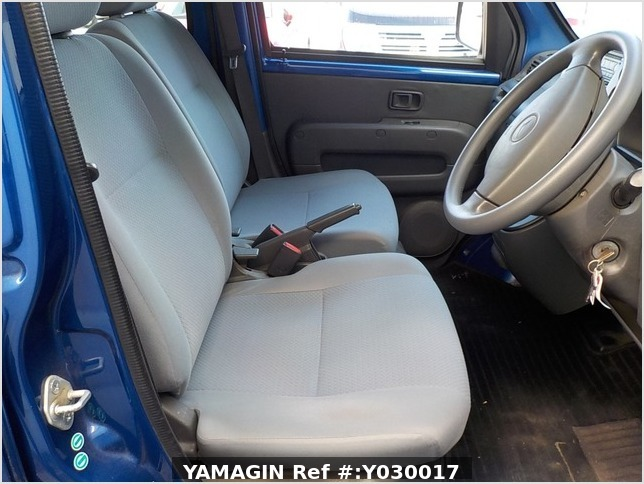 It is a picture of the blue daihatsu hijet deck van in 2007,Sub Photo 8 Stock No.Y030017