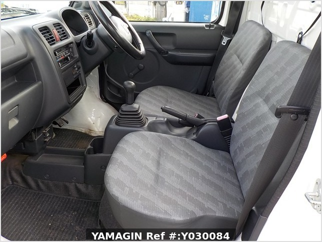 It is a picture of the white suzuki carry truck in 2008,Sub Photo 10 Stock No.Y030084