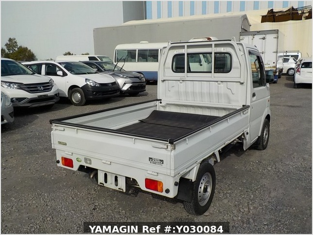 It is a picture of the white suzuki carry truck in 2008,Sub Photo 2 Stock No.Y030084