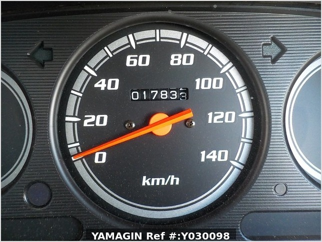 It is a picture of the white daihatsu hijet passenger van in 2001,Sub Photo 7 Stock No.Y030098