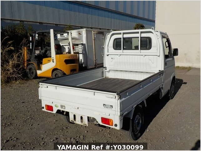 It is a picture of the white suzuki carry truck in 2007,Sub Photo 2 Stock No.Y030099